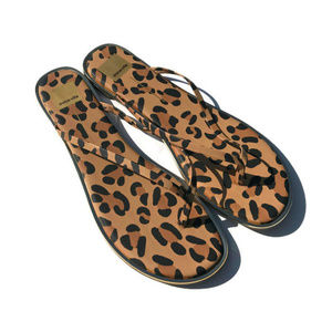 Dolce Vita Shoes - Size 13 Dolce Vita Animal Print Flip Flops